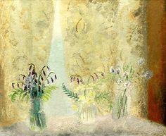 Winifred Nicholson 1893 - 1981 Waking up c. Winifred Nicholson, Impressionism Art, Conte, New Artists, Abstract Expressionism, Art Images, Flower Art, Still Life, Illustration Art