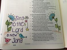 #bible journaling  #Psalm 96