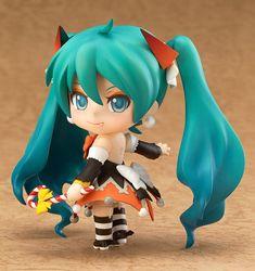 Nendoroid Hatsune Miku: Halloween Ver. (ねんどろいど はつねみく はろうぃんVer.) ¥3,889 (Before Tax) 2014/10