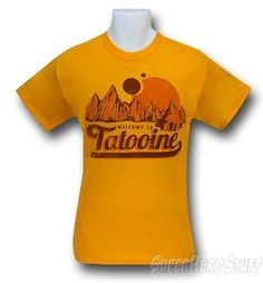 Images of Star Wars Tatooine Welcome T-Shirt