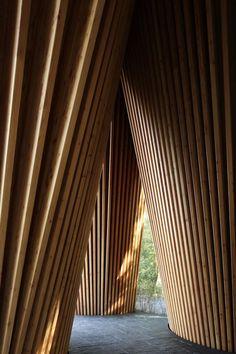 Snake Ranch   archatlas: Sayama Forest Chapel Hiroshi Nakamura...