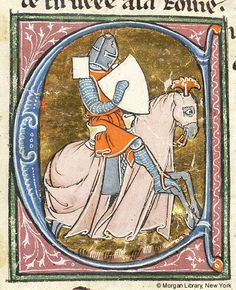 Lancelot du Lac, MS M.805 fol. 37v - Images from Medieval and Renaissance Manuscripts - The Morgan Library & Museum