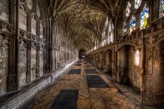 The Cloister of Gloucester Cathedral
