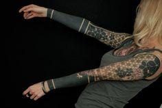 Amazing Blackwork Tattoo Gallery  #tattoo #ink #blackwork #mens #for girls #geometric #traditional #sleeve #simple #black