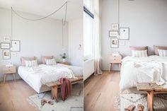 Propuestas para decorar tu cuarto  Un banco de madera puede funcionar como pie de cama: ideal a la hora de cambiarse y como superficie extra de apoyo Foto:Avenuelifestyle.com