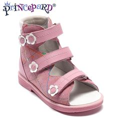 310c502c3694a Princepard pink Summer Baby arch support Orthopedic Sandals antiskid Girl  Shoes