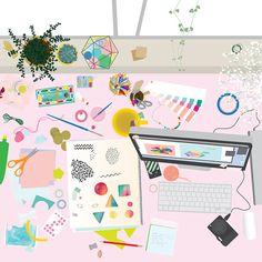 Desk for frankie Beci Orpin