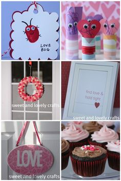 sweet and lovely crafts: Valentine Day crafts
