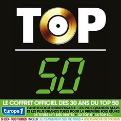 Top 50 - 30 Ans - 100 Tubes (Coffret 5CD Digipack)   Top 50 - 30 Ans  | CD NEUF