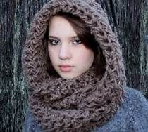 Free Crochet Hooded Scarf Pattern - Bing Images