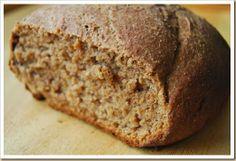 Receita de pão integral com fermentação natural | Cura pela Natureza.com.br