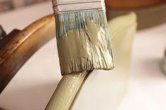 cómo restaurar un mueble y que parezca antiguo chalk paint