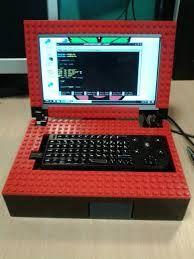 Lego Raspberry Pi laptop... sheer awesomeness.