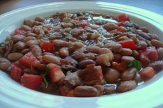Pappasito's Pinto Bean Soup. Photo by Starrynews