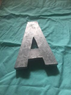 This three dimensional industrial style metal letter A has been painted silver but could be changed to a color of your choosing. There are two holes on the reverse for hanging. A great decor item. Industrial Metal, Industrial Style, Metal Letters, Three Dimensional, Decorative Items, Vintage Items, Lettering, Silver, Etsy