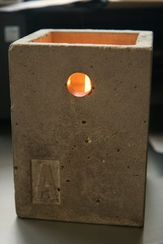 Beautiful...made from concrete! atstuart on etsy