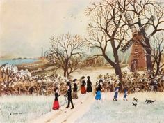Helen Bradley British Artist (1900-1979) ~ Blog of an Art Admirer