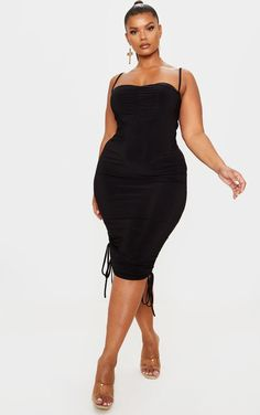 Curvy Women Fashion, Plus Size Fashion, Girl Fashion, Fashion Outfits, Plus Size Dresses, Plus Size Outfits, Plus Sise, Knee Length Dresses, Midi Dresses