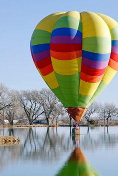 """""""_MG_1133 ver 2.jpg"""" by rojollc on Flickr - A colorful hot air balloon..."""