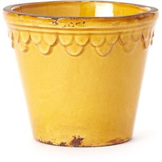 Rustic Garden Terrace Amber Planter w/ Scalloped Petals ($60) ❤ liked on Polyvore featuring home, outdoors, outdoor decor, outdoor, outdoor garden decor, outside garden decor, flower planters, flower stem and outdoor patio decor