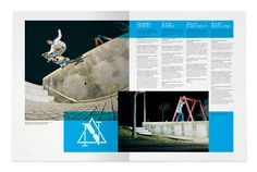 MagSpreads - Magazine Layout Design and Editorial Inspiration: Go Skateboarding Mag - Luis Vicente Hernandez