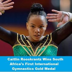 First International, My Heritage, The One, Gymnastics, South Africa, Past, African, History, Color