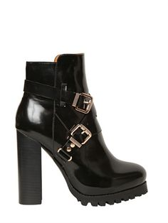 Jeffrey Campbell Mercer-Dp Womens Size 10 Black Leather Fashion Ankle Boots -New