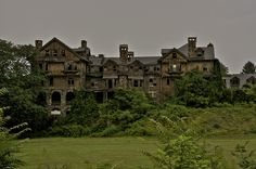 Halcyon Hall was build in 1890 and completed in 1893 as a luxury hotel in the town of Millbrook, New York. Designed by James Ware the hotel had 200 rooms and was built mostly out of stone and wood in the Queen Anne style. With the lack of occupants, after 8 years of business the hotel closed in 1901. Left abandoned for nearly 6 years in 1907 the property was purchased by Miss May Bennett. She moved her all girls school from Irvington to Millbrook. Click for more info ...