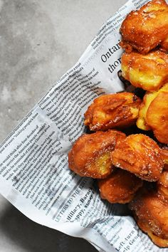 Maple Peach Fritters - Pardon Your French