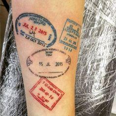 Amazing Travel-Inspired Tattoos