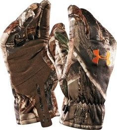 0e722e03d04 Cabela s  Under Armour® Dead Calm Gloves L Realtree AP