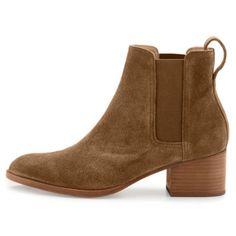 Rag and Bone Walker Mineral Suede Block Heel Boot