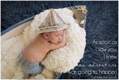 Newborn Boy Photos boat sailing nautical ~ 14 Days New, Sneak Peek | Missy B Photography | Bay Area Newborn Photographer » Missy B Photography