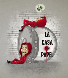 Cushion LA CASA WITHOUT PAPER by Zakeu - #Casa #Cushion #La #LaCasaDePapel #paper #Zakeu - #LaCasaDePapel Films Netflix, Netflix Series, Funny Iphone Wallpaper, Tumblr Wallpaper, Best Series, Tv Series, Money Pictures, Joker Art, Personalized Birthday Gifts