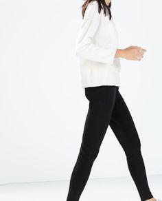 ZARA - NEW THIS WEEK - SWEATPANTS WITH FRONT POCKETS