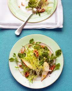See our Watercress, Frisee, and Pear Salad galleries