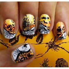 Unhas de Halloween http://vilamulher.terra.com.br/unhas-de-halloween-para-amar-2-1-13-1106.html #halloween
