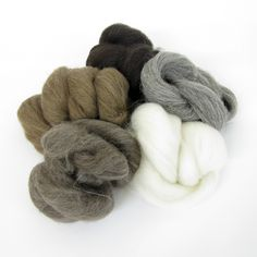 All natural colours from British Breeds. Available now from Joe's Toes.  photo with permission of Hawthorn Handmade