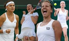 6/30/14 The Czech Invasion at The Championships, Wimbledon 2014. #6-Seed Petra Kvitova Into 4th rd after def. #30-Seed Venus Williams, #23-Seed Lucie Safarova Into QFs after def. 4th Czech, Qualifier Smitkova. Barbora Zahlavova Strycova battling in 4th rd v #16-Seed Caroline Wozniacki.