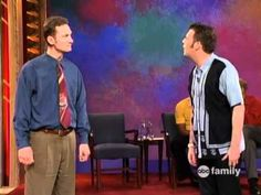Whose line is it anyway!  twelfth episode of final season, enjoy!    host: Drew Carey    contestants:  Brad Sherwood  Wayne Brady  Colin Mochrie  Ryan Stiles    games:  fashion models  number of words  doo wop  scenes from a hat  party quirks  bartender  quick change    i do not own any rights to this awesome show    i was tired of all the comments about spelling and...