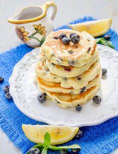 Pancakes cu lamaie si afine (fara gluten) - Din secretele bucătăriei chinezești