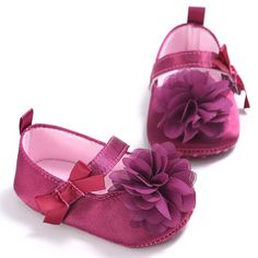 2017 New Baby Shoes First Walkers Cotton Flower Baby Gir Shoes Purple Infant Shoe For Kids Soft Bottom Footwear Baby Moccasins #Affiliate