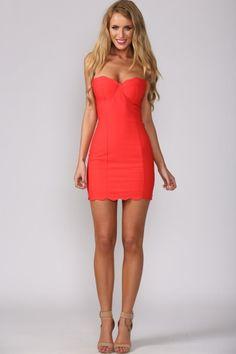 Scarlet Letter Dress