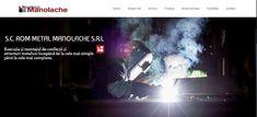 Creare site pentru firma sudura structuri metalice ⋆ CREARE SITE WEB Web Design, Metal, Design Web, Metals, Website Designs, Site Design