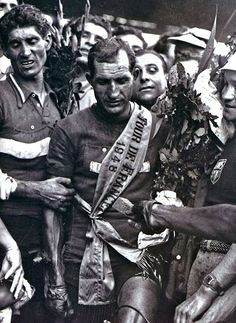 Gino Bartali. A cyclist anointed by God.  Tour De France 1948.