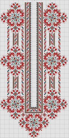 Why do I love cross stitch ros Border Embroidery Designs, Folk Embroidery, Embroidery Patterns Free, Cross Stitch Embroidery, Machine Embroidery Designs, Cross Stitch Borders, Cross Stitch Flowers, Cross Stitch Designs, Cross Stitching