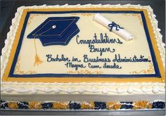 31 Graduation Day Cakes for the Special Moment of your life - Cakes and Cupcakes Mumbai Graduation Cake Designs, College Graduation Cakes, Graduation Food, Graduation Cupcakes, Graduation Decorations, Sheet Cake Designs, Foto Pastel, Grad Parties, Party Cakes