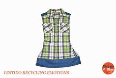 Vestido colección Recycling Emotions www.orangeblue.cl