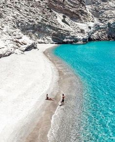Greece Destinations, Travel Destinations, Places Around The World, Around The Worlds, Tropical Paradise, Greece Travel, Greek Islands, Summer Travel, Dream Vacations