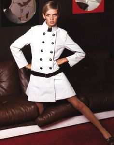 Twiggy. Mod. 1960s fashion Twiggy made skinny ok!  It became a compliment!  I was so grateful to her!!